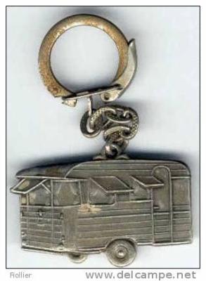 un joli porte cl digue caravane ancienne de collection henon notin. Black Bedroom Furniture Sets. Home Design Ideas